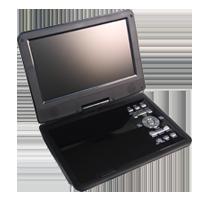 9インチポータブル DVDプレーヤー CPD-8100BK